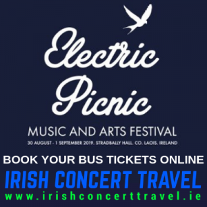 Bus to Electric Picnic - 2019
