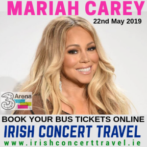 Bus to Mariah Carey in the 3Arena