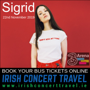 Bus to Sigrid | 3Arena | 22nd November 2019