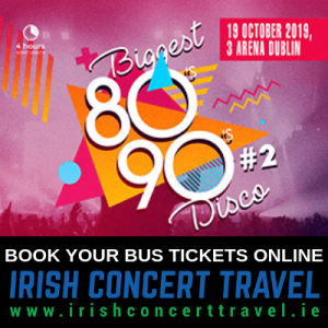 Bus to Biggest 80s + 90s Disco 2019