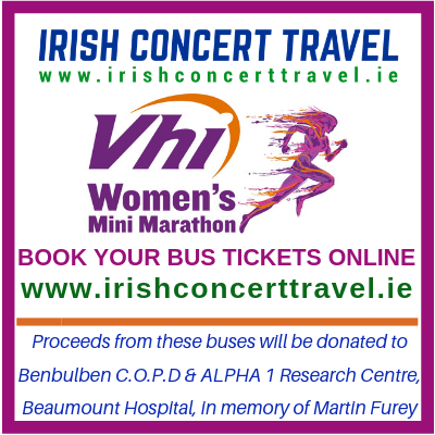 Bus to the VHI Womens Mini Marathon - 2nd June 2019
