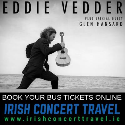 Bus to Eddie Vedder 3rd July 2019 3Arena