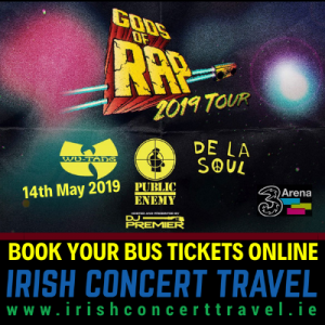 Bus to Gods of Rap 14th May 2019