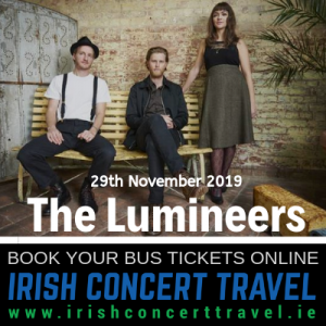 The Lumineers, 3Arena 29th November 2019