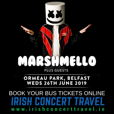 Bus to Marshmello at Belsonic 26th June 2019