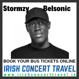 Bus to Stormzy at Belsonic