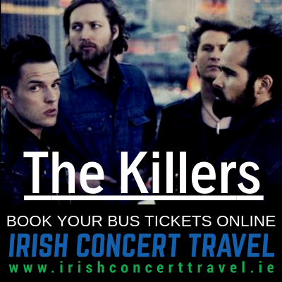 Bus to the The Killers at Belsonic