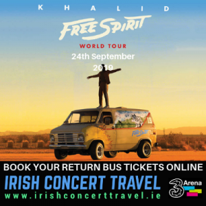 Bus to Khalid in the 3Arena 24th September 2019