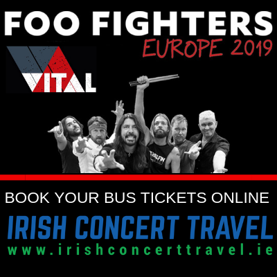 Bus to Foo Fighters at Belfast Vital
