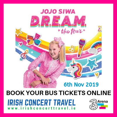 Bus to JoJo Siwa 6th November 2019
