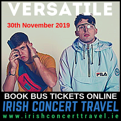 Bus to Versatile 3Arena 30th November 2019