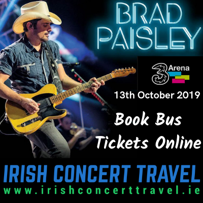 Bus to Brad Paisley 13th October
