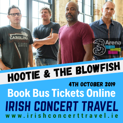Bus to Hootie & the Blowfish