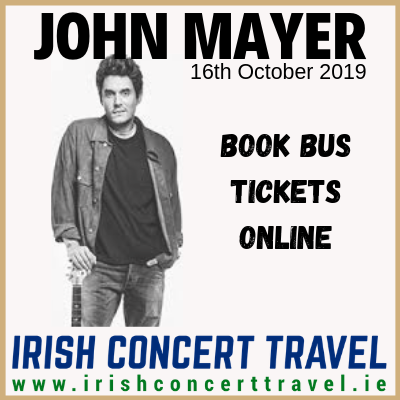 Bus to John Mayer in the 3Arena