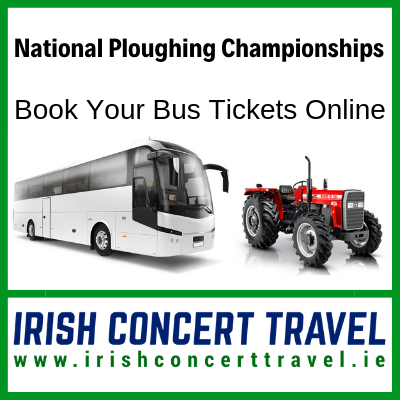 Bus to National Ploughing Championships 19th September 2019