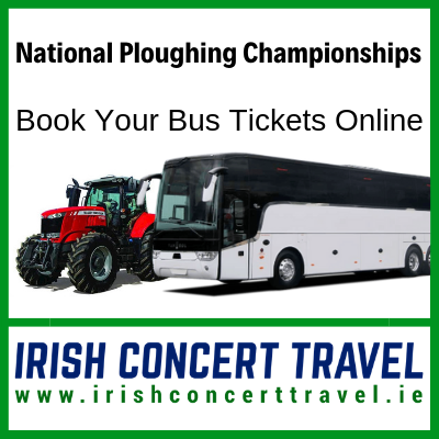 Bus to National Ploughing Championships 17th September 2019