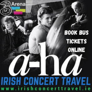 Bus to a-ha in the 3Arena