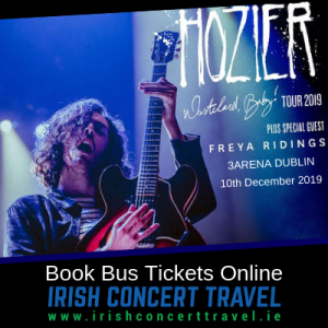 Bus to Hozier in the 3Arena 10th December 2019