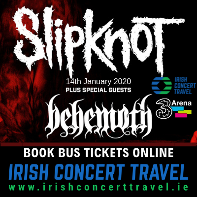 Bus to Slipknot in the 3Arena 14th January 2020