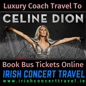 Buses to Celine Dion in the 3Arena on the 14th September 2020