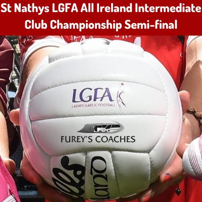 Bus to St Nathys LGFA All Ireland Intermediate Club Championship Semi-final
