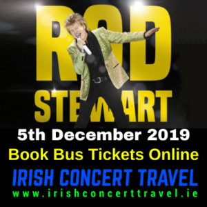 Buses to Rod Stewart on the 5th December 2019 in the 3Arena