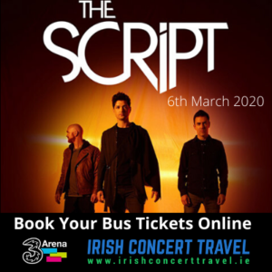 Buses to The Script in the 3Arena on the 6th March 2020