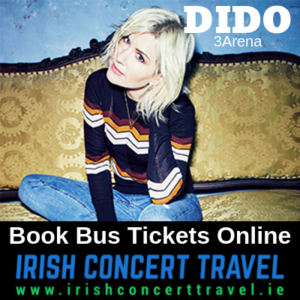 Buses to Dido on the 1st December 2019 in the 3Arena
