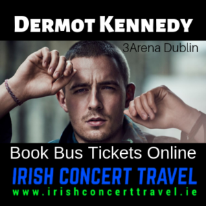 Buses to Dermot Kennedy 22nd December 2019 in the 3Arena