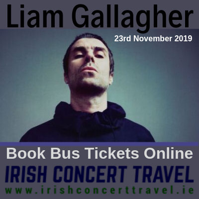 Bus to Liam Gallagher 23rd November 2019