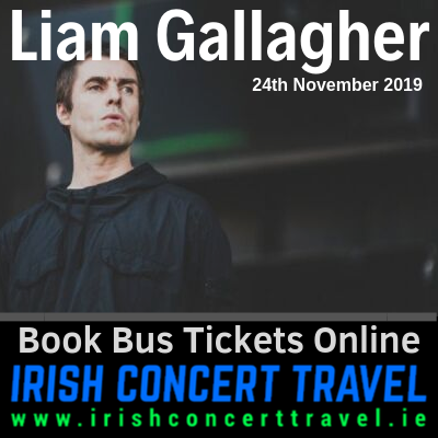 Bus to Liam Gallagher 24th November 2019