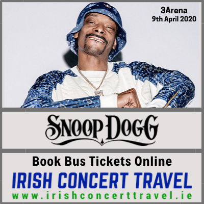 Buses to Snoop Dogg 9th April 3Arena Dublin