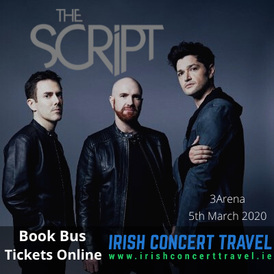 Buses to The Script in the 3Arena on the 5th March 2020