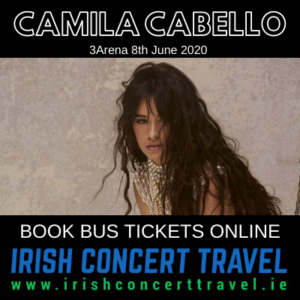 Bus to Camila Cabello in the 3Arena on the 8th June 2020