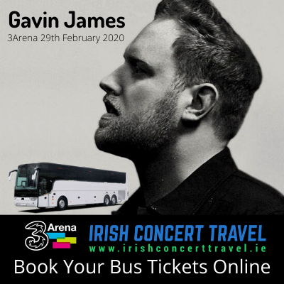 Buses to Gavin James 29th February 2020 in the 3Arena
