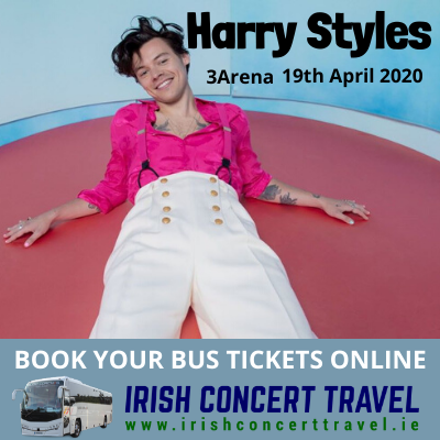 Buses to Harry Styles concert 19th April 2020 in the 3Arena