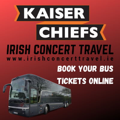 Buses to The Kaiser Chiefs in the 3Arena on the 23rd February 2020