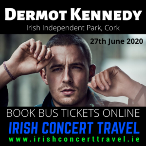 Buses to Dermot Kennedy in the Irish Independent Park Cork on the 27th June 2020