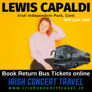 Buses to Lewis Capaldi in the Irish Independent Park Cork on the 18th June 2020