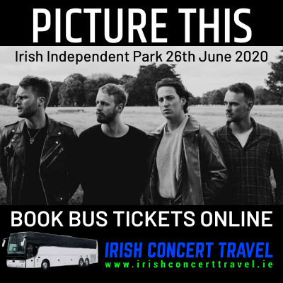 Buses to Picture This in the Irish Independent Park Cork on the 26th June 2020