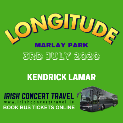Buses to Kendrick Lamar at Longitude in Marlay Park on 3rd of July 2020