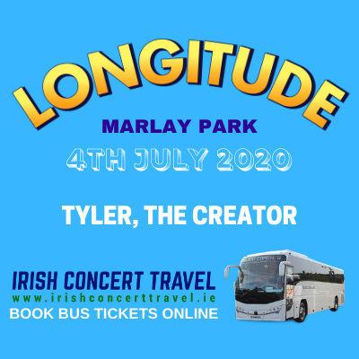 Buses to Tyler, The Creator at Longitude in Marlay Park 4th of July 2020
