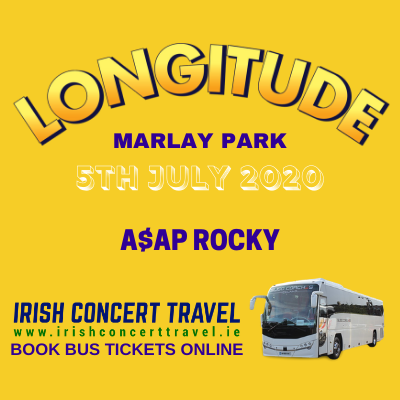 Buses to A$AP Rocky at Longitude in Marlay Park 5th of July 2020