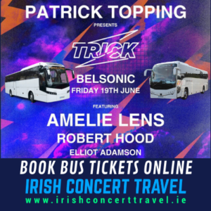 Bus to Patrick Topping - Belsonic Ormeau Park Belfast 19th June 2020