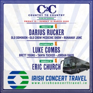 Bus to Country to Country in the 3arena 15th March 2020
