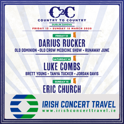 Bus to Country to Country in the 3arena 13th March 2020