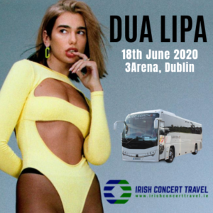 Bus to Dua Lipa 3arena 18th June 2020
