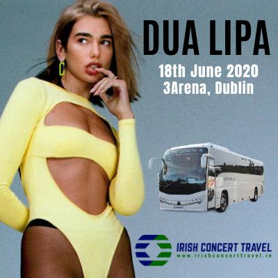 Bus to Dua Lipa 3arena 18th June 2020