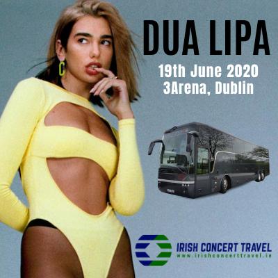 Bus to Dua Lipa 3arena 19th June 2020