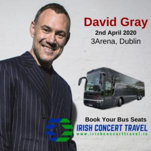 Bus to David Gray 3arena 2nd April 2020